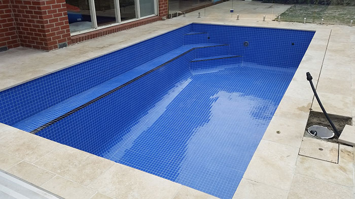 Tiling a Swimming Pool – Ashburton